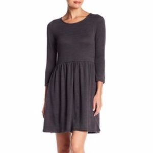 Collective Concepts Long Sleeve Dress Grey Size S